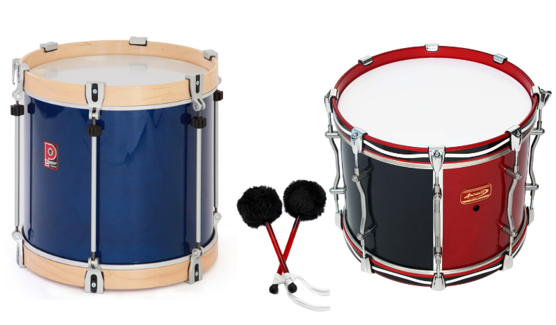 The Tenor drums